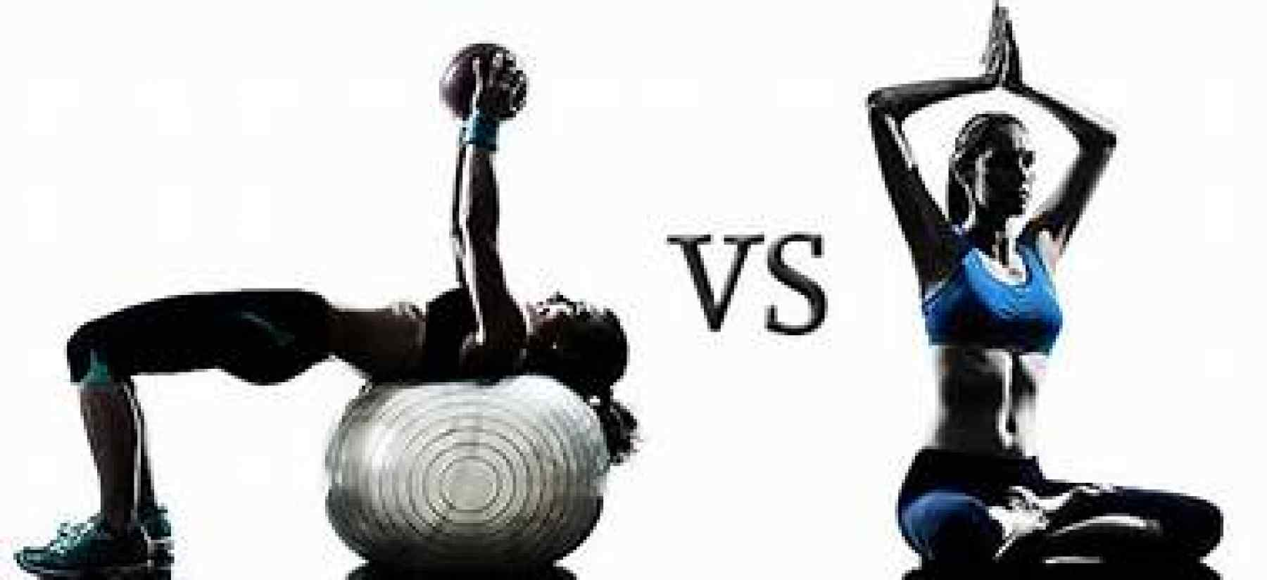 Yoga vs Weight Lifting